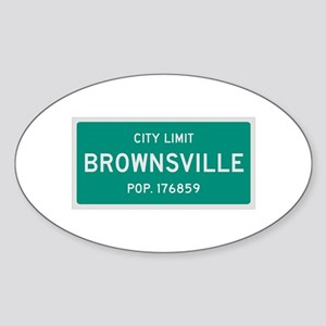 Brownsville, Texas City Limits Sticker